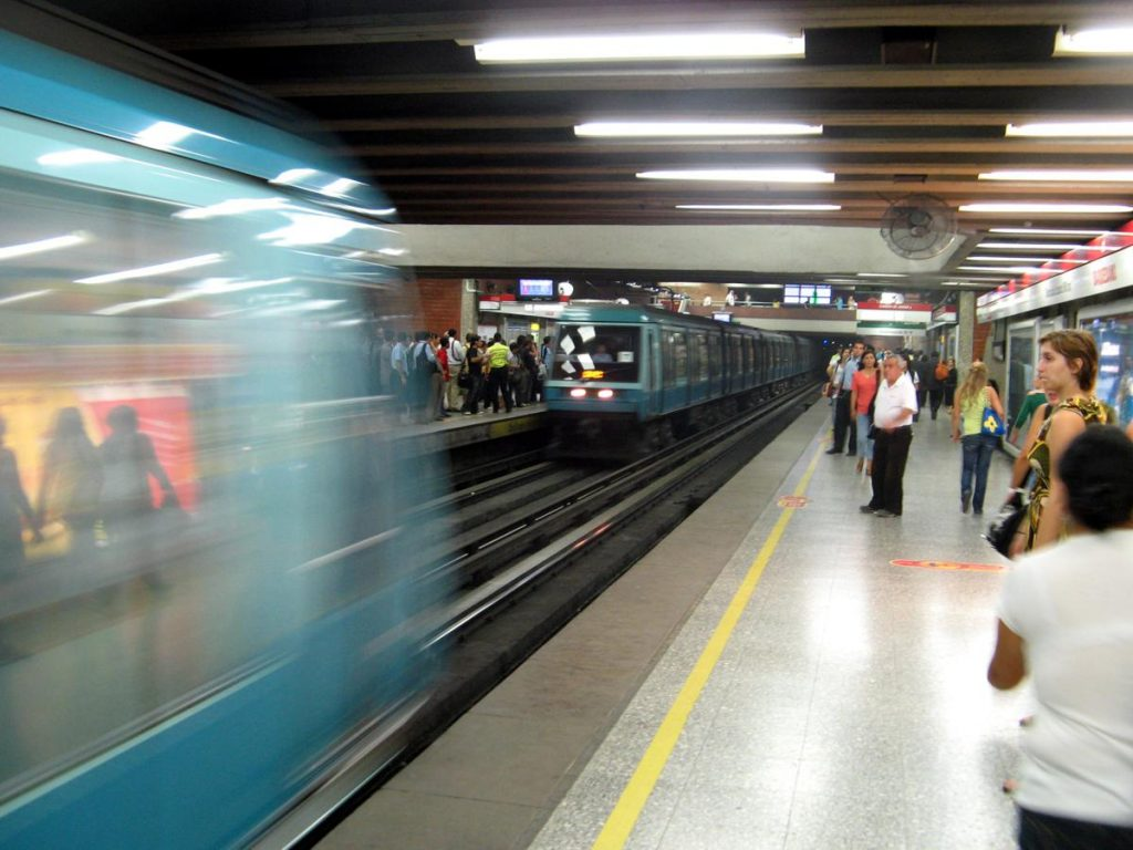 Santiago Metro - Photo by Bernie CB
