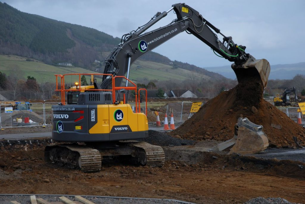 TSL Contractors value Excavator service support from VolvoCE