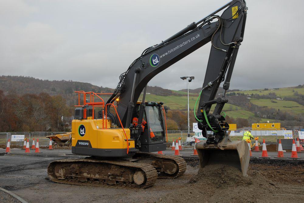 TSL Contractors value Excavator service support from VolvoCE