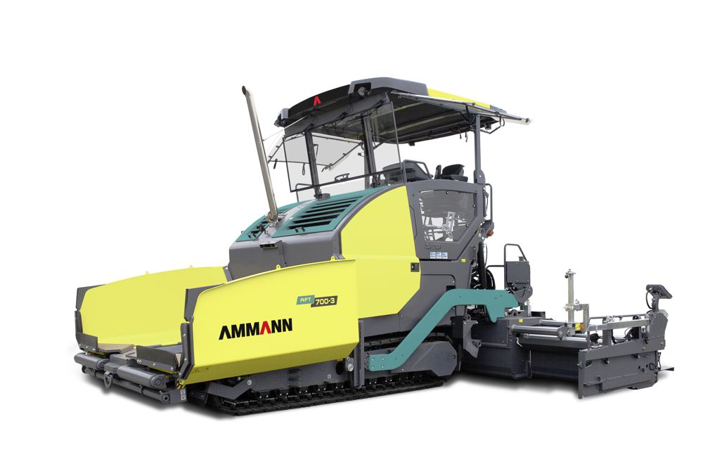 Ammann introduces a new line of Asphalt Pavers