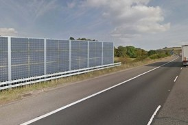 Noise barriers to be installed on M40 Motorway in England