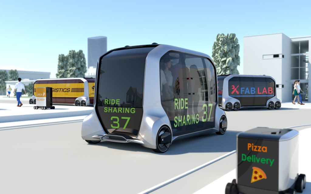 Toyota Motor Corporation President Akio Toyoda launched a new mobility service business alliance and e-Palette Concept Vehicle designed to meet the demands of future multi-mode transportation and business applications.