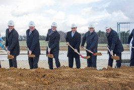 PERI celebrates expansion with plant ground-breaking ceremony in Guenzburg