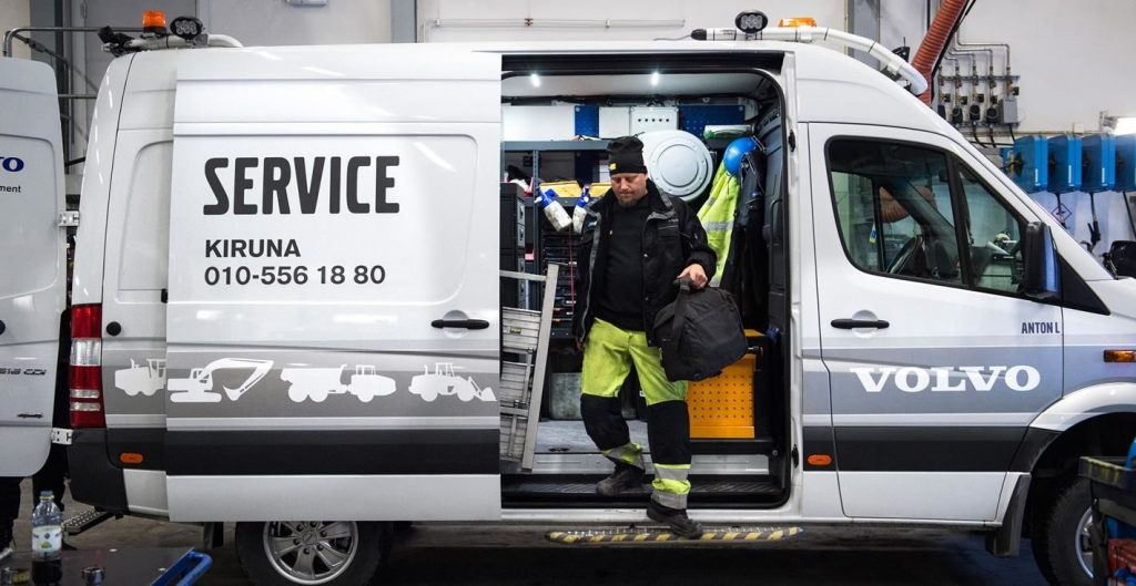 A day in the life of a Volvo Technician in Kiruna