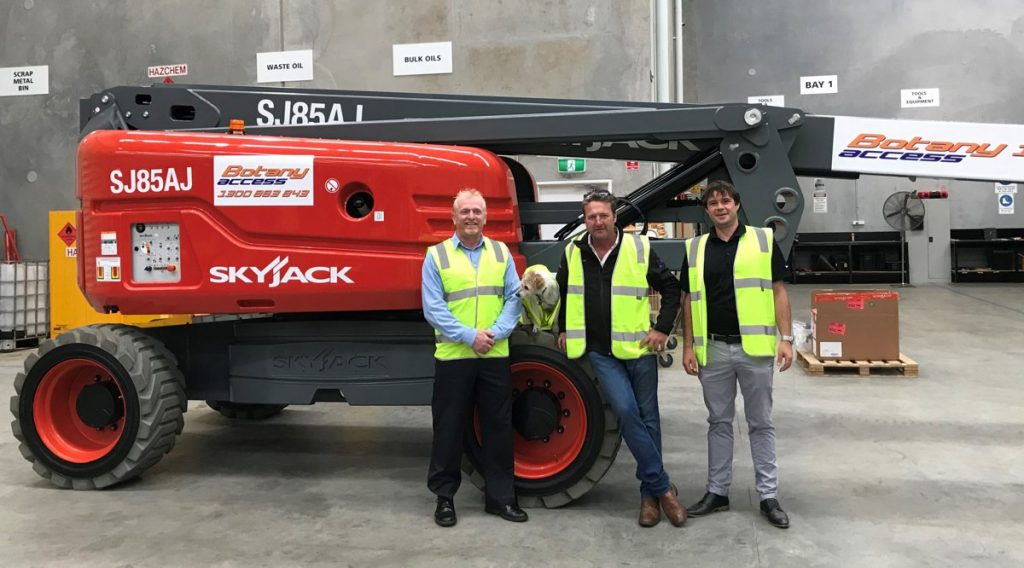 Skyjack' gaining traction in the Australian Outback