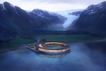 Snøhetta designs World's first Powerhouse Hotel concept above the Arctic Circle