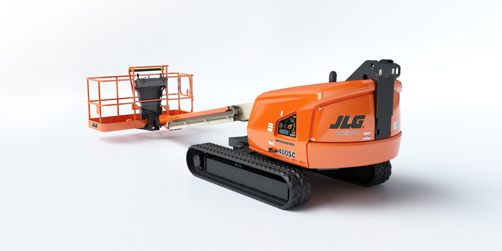 New JLG 400SC Crawler Boom Lift showcased at The Rental Show