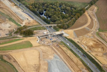 A14 bridge opened and old bridge to be demolished in the same week