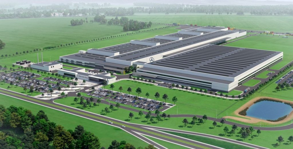 Mercedes-Benz's first Polish engine plant to be built by STRABAG