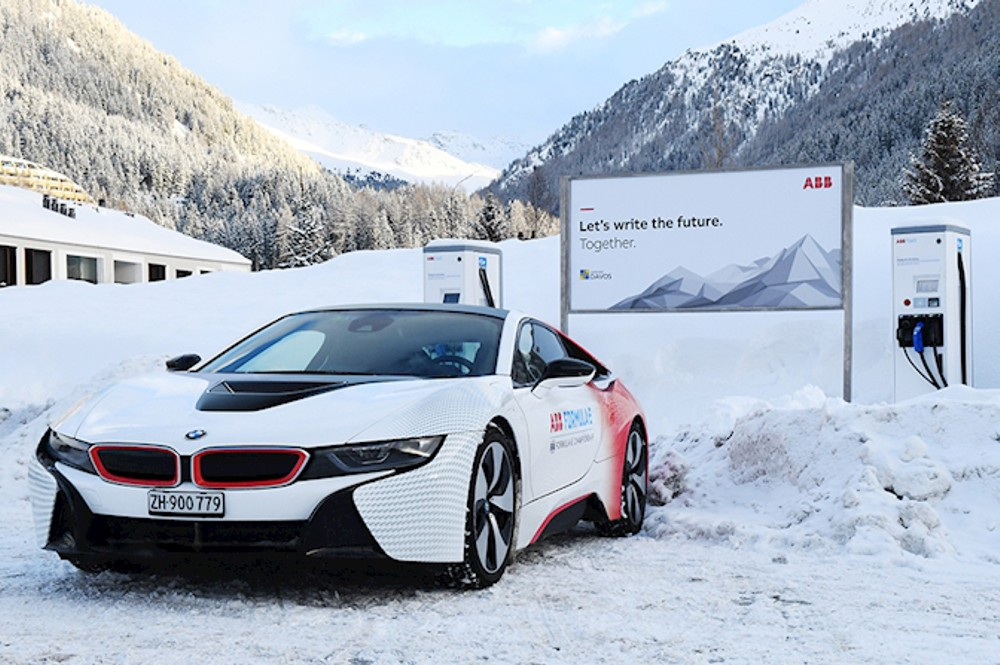 ABB and City of Davos drive sustainable mobility with e-vehicle innovation