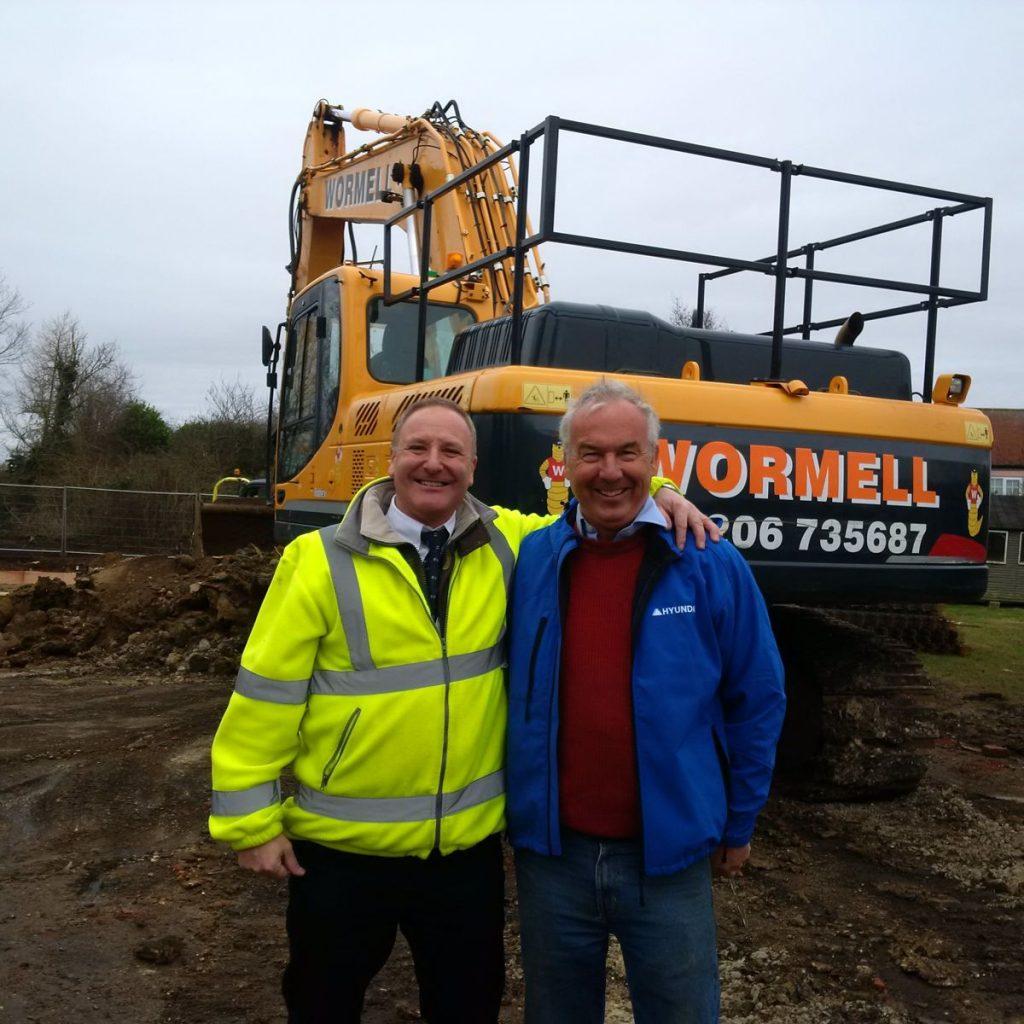 Andy Parnham and Robert Pegram - Steve Wormwell Hyundai Customers
