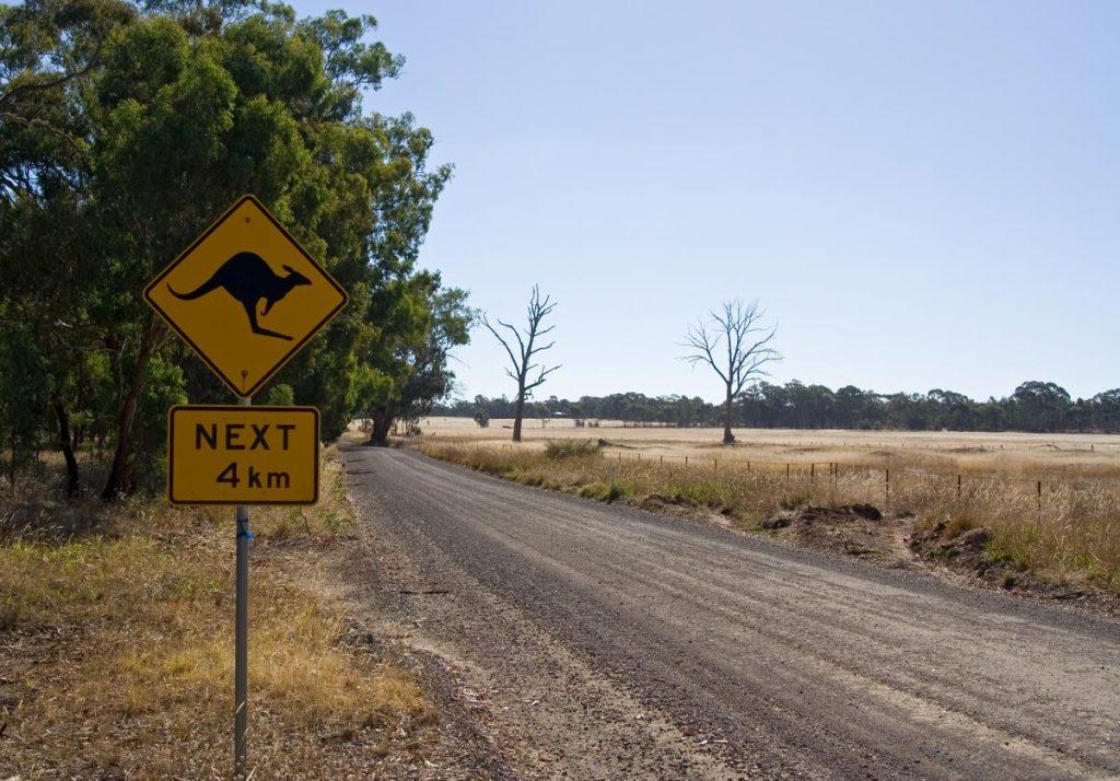 Australia Road - Photo by Nelson Minar