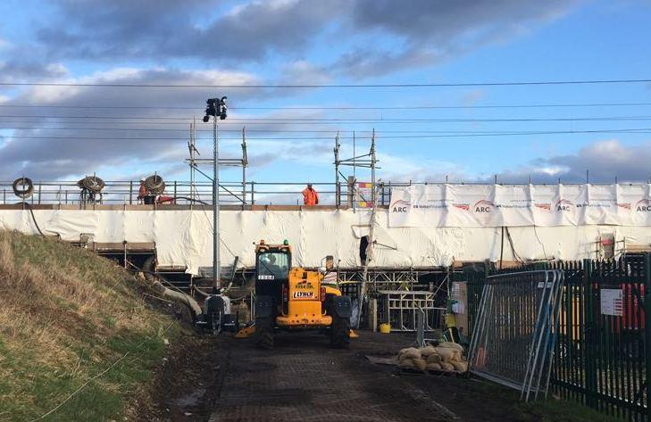 Bridge strengthening between Ely and Kings Lynn