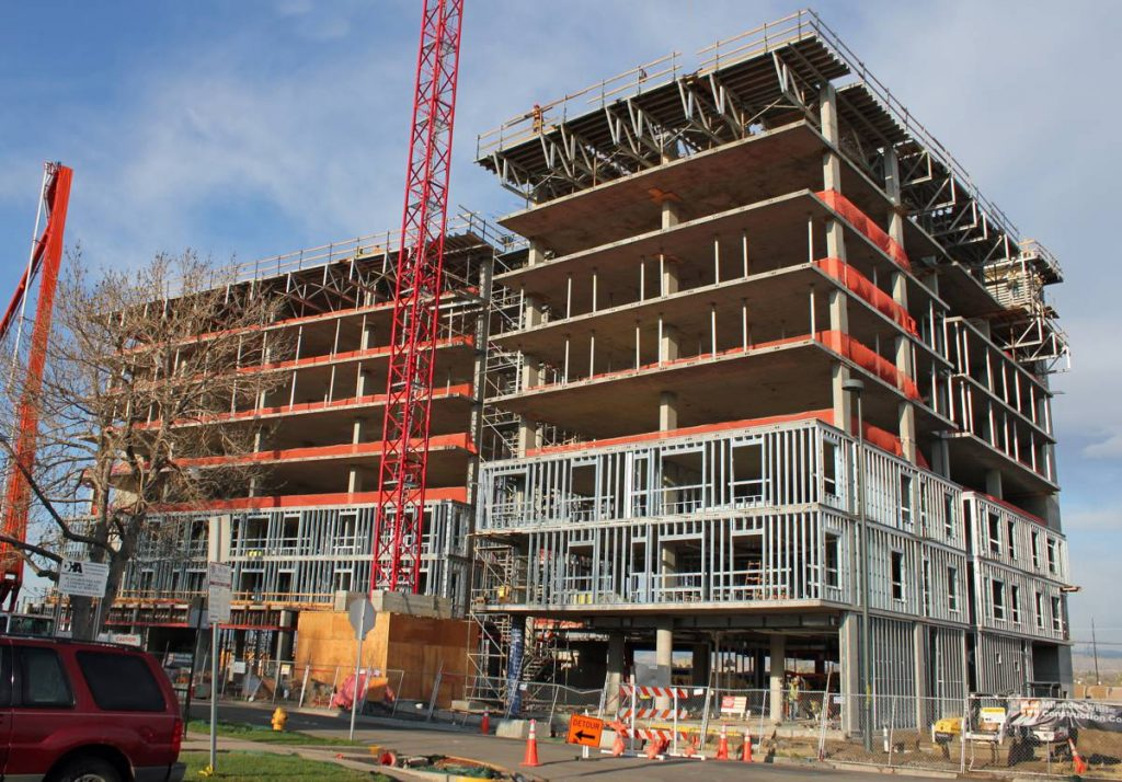 Building Construction - Photo by Jeffrey Beall