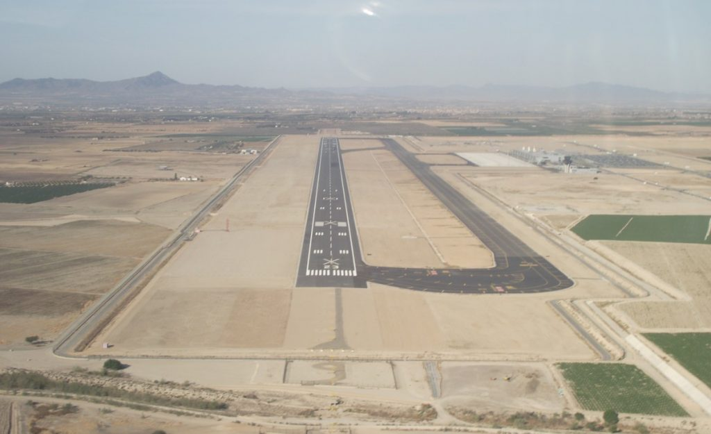 Corvera Airport - Photo by Adam Hinett