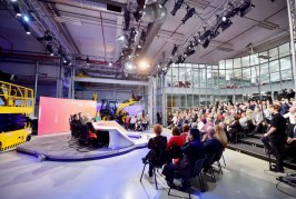 JCB provides industrial backdrop for BBC's Question Time