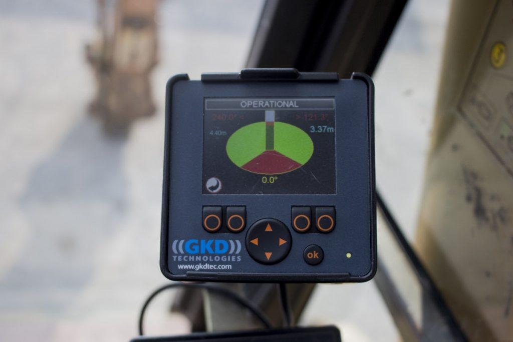 GKD New Sensor Height Slew System