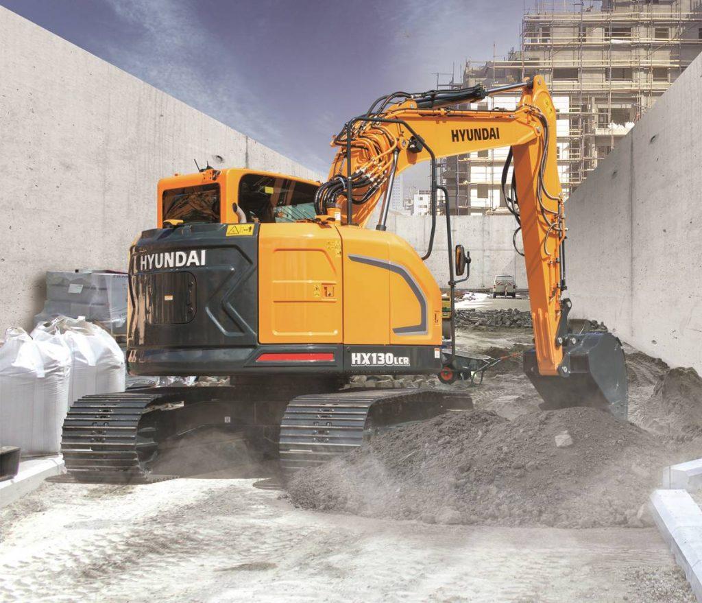 Hyundai Construction launches HX130 LCR Crawler Excavator