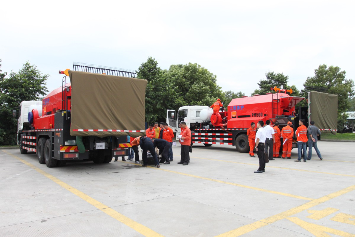 Freetech Patching Vehicle at the core of Jiangsu Expressway Ltd's road maintenance