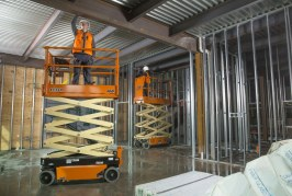 JLG smart technology makes their Scissor Lifts stand out