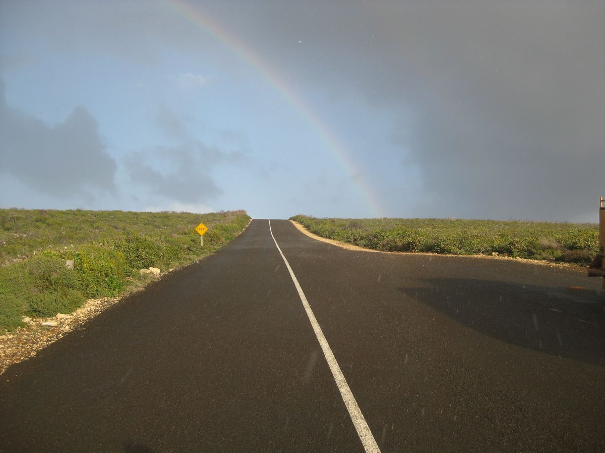 Kangaroo Island hopping for joy at road upgrade