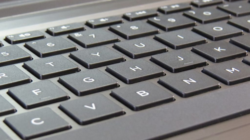 Laptop Keyboard - Photo by Luke Jones