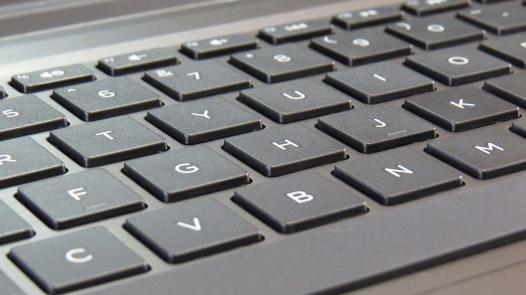 Laptop Keyboard - Photo by Luke Jones
