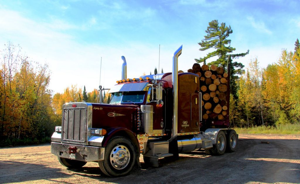 Logging Truck - Photo by Jeremy Rempel