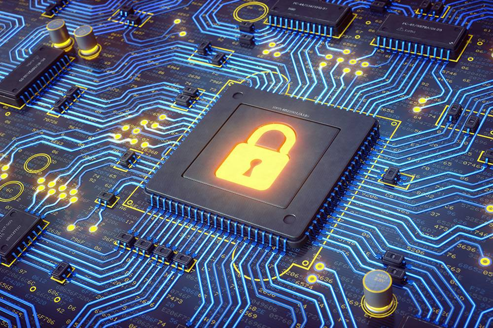 MIT researchers have built a new chip, hardwired to perform public-key encryption, that consumes only 1/400 as much power as software execution of the same protocols would. It also uses about 1/10 as much memory and executes 500 times faster.