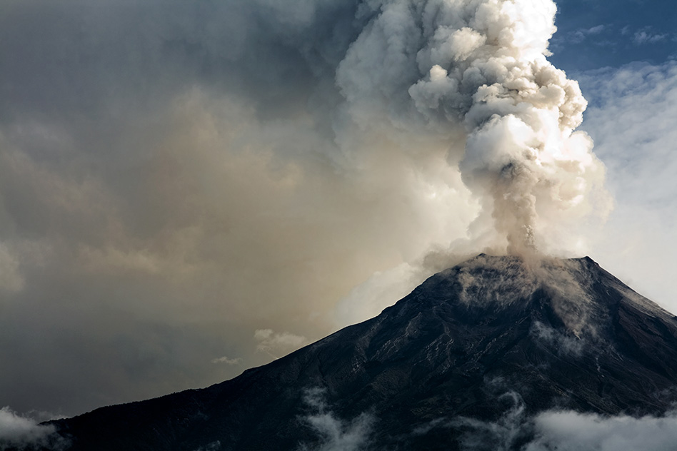 Cities of the future may be built with volcanic ash