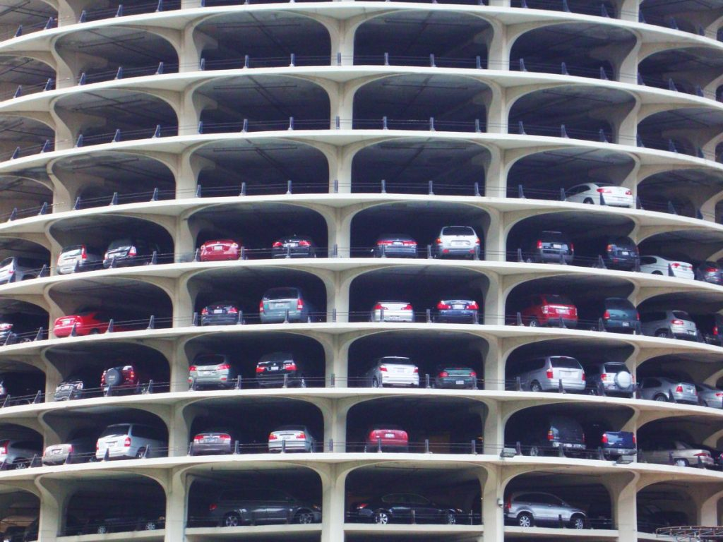 Marina City Car Park - Photo by Tom Ravenscrodt