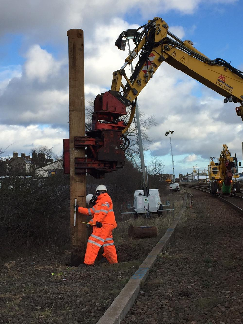 NYL Piling works