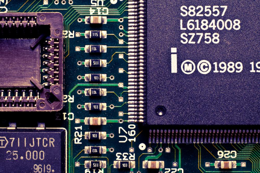Network Chips - Photo by Mark Ramsey
