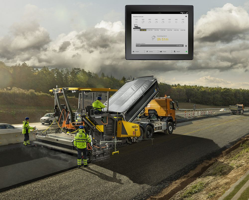 Volvo Co-Pilot and Pave Assist technologies.