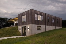 HAUS Architects experiments with thermally modified American Ash