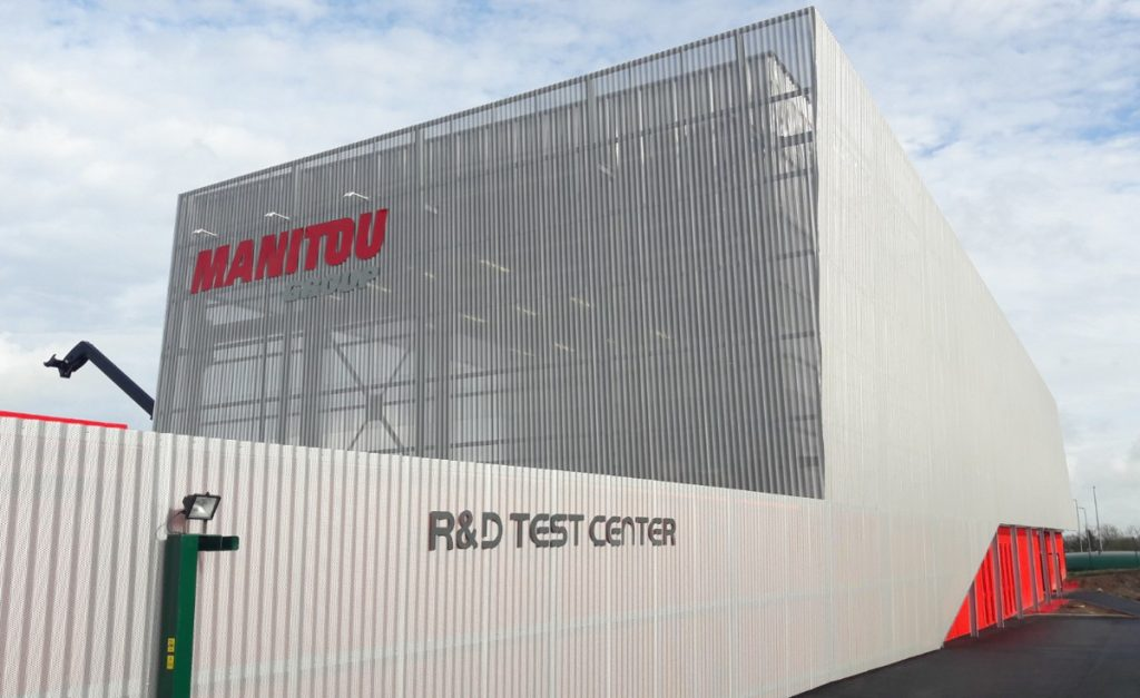 The Manitou group inaugurates new R&D Test Center
