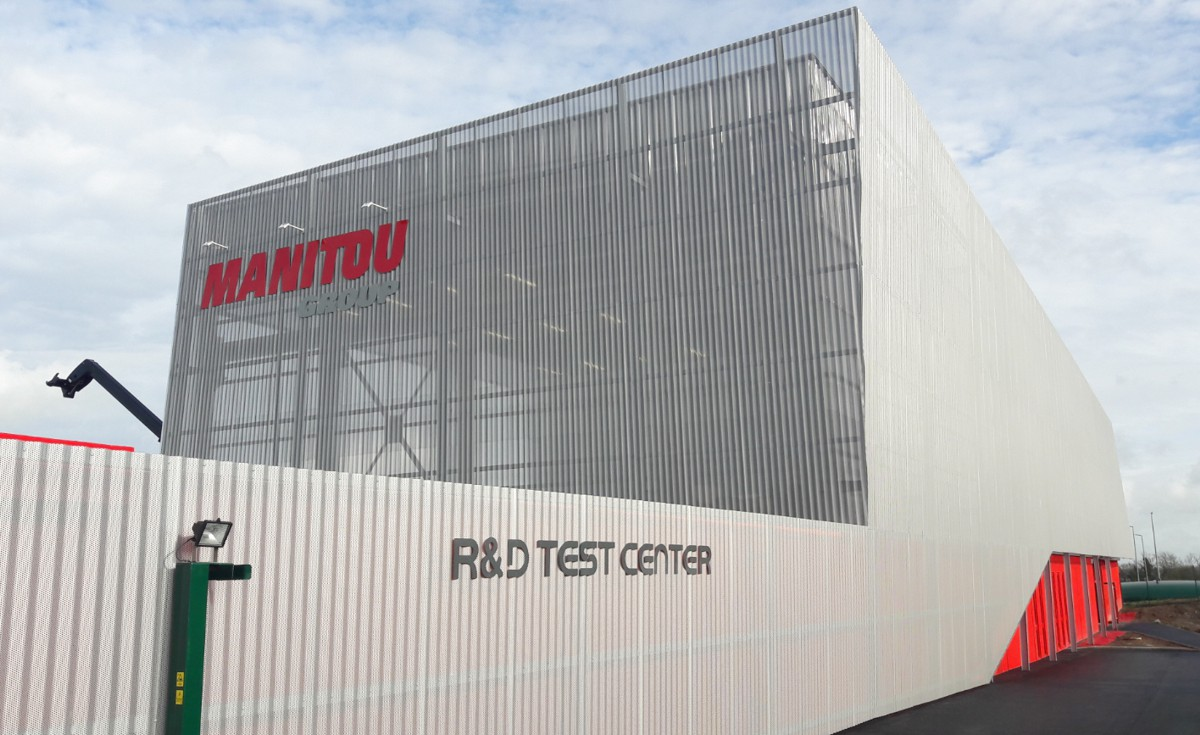 The Manitou group inaugurates new Research and Development Test Center