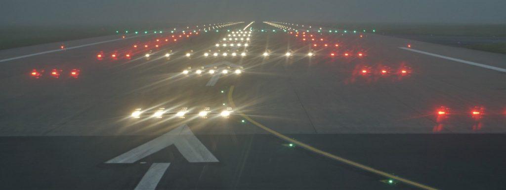 Runway Lights - Photo by Josbert Lonnee