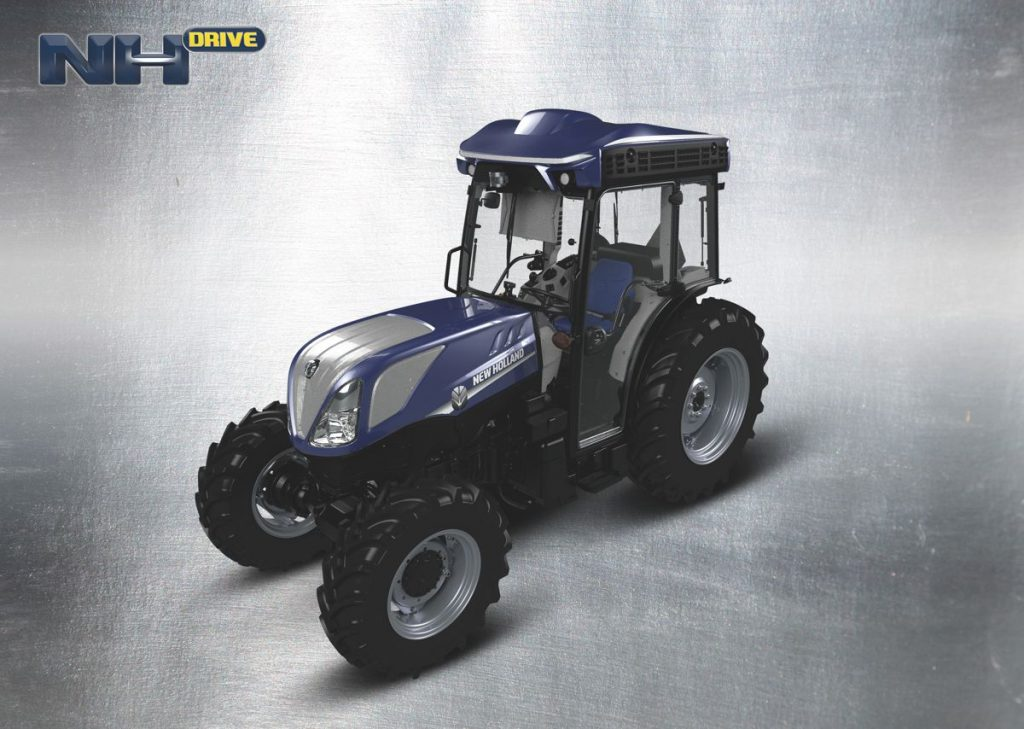 New Holland pilots autonomous tractor at E and J Gallo Winery