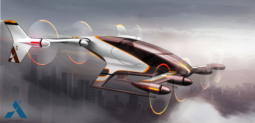 Airbus flying car completes successful test flight