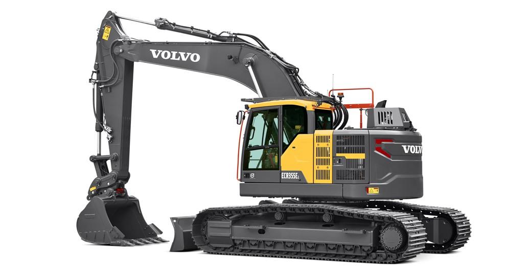 Volvo ECR355E Excavator