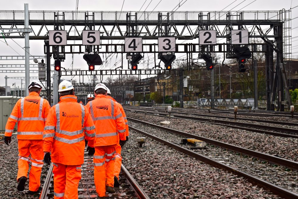 Carillion's UK Network Rail contracts acquired by Amey Rail