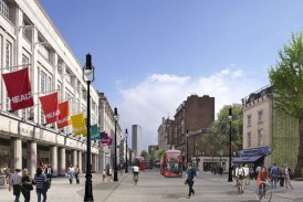 Eurovia wins contract to transform London's busy Tottenham Court Road
