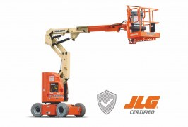 JLG expands certified pre-owned equipment program to include electric booms