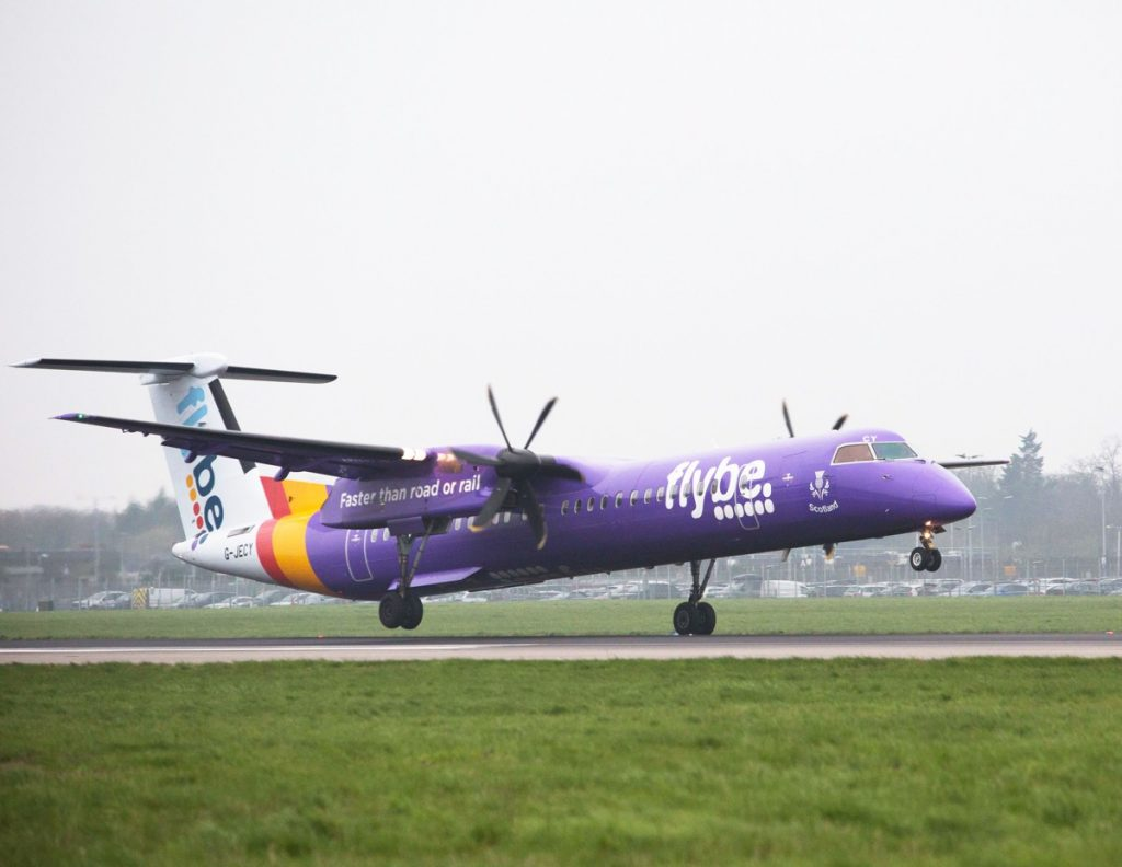 Flybe best in noise and emissions at Heathrow Airport