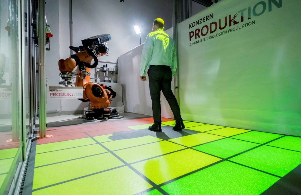 Volkswagen looks at safe spaces for robots