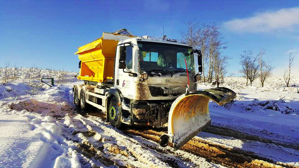 Scottish Highlands Council relies on Schmidt Gritters for winter maintenance