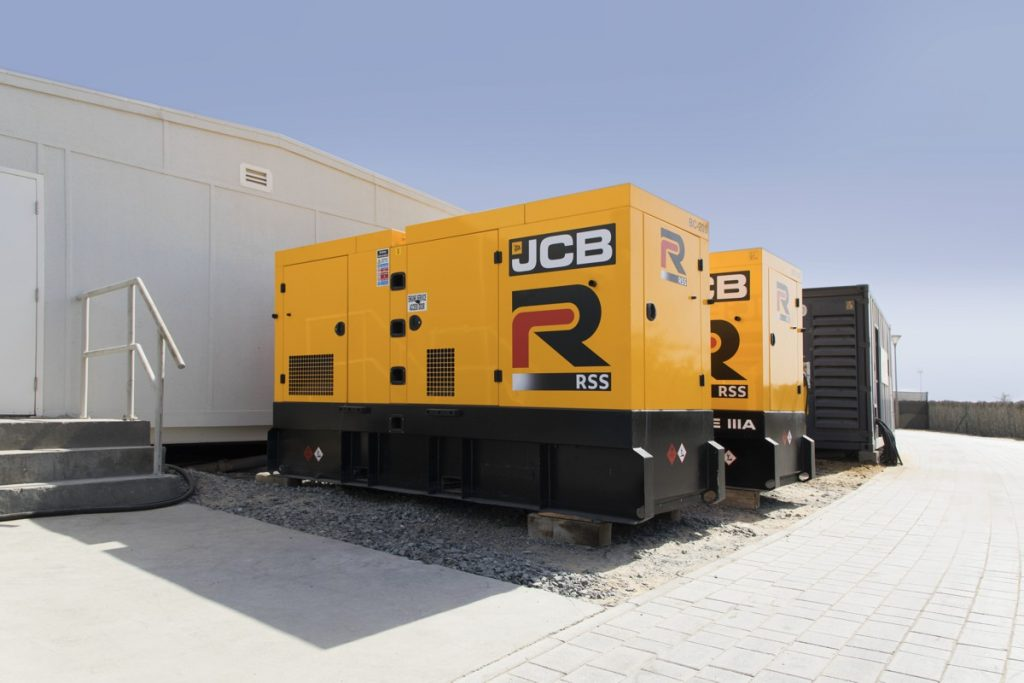 JCB Power Products supplies 400 generators to rental company in Dubai