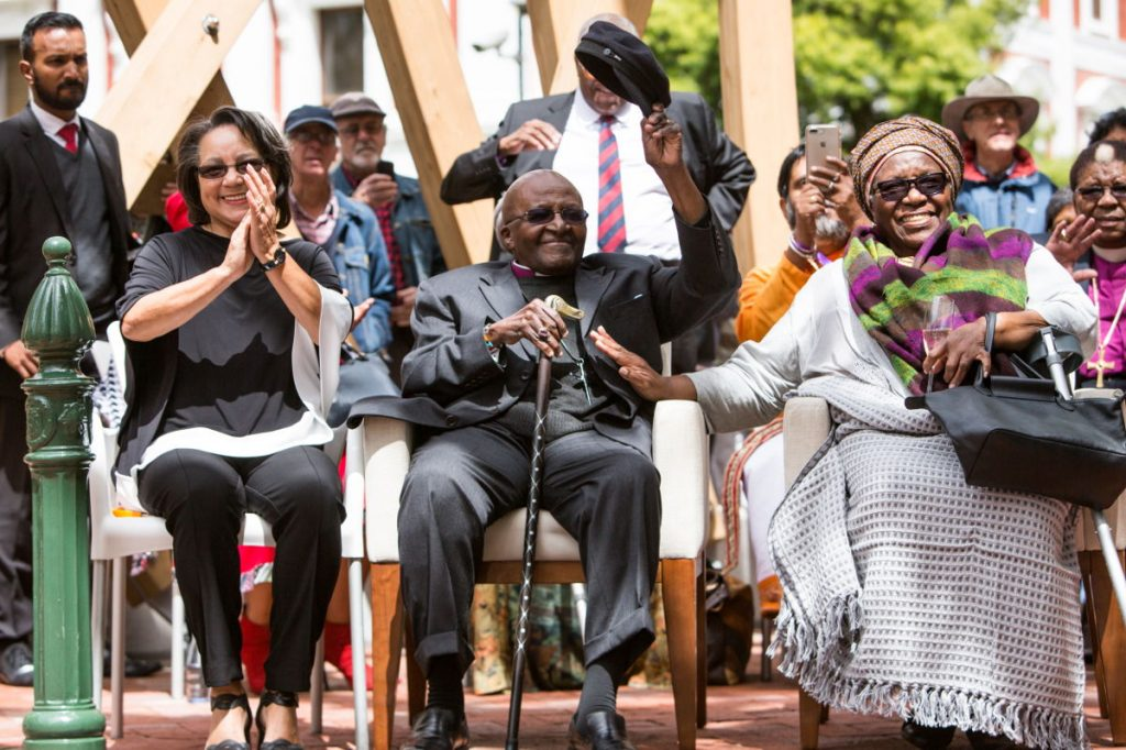 """The Arch for Arch stands as a tribute to the human rights activist and Nobel Peace Prize Laureate Archbishop Desmond Tutu, affectionately known as """"Arch"""" by fellow South Africans, as well as a monument to peace and democracy."""
