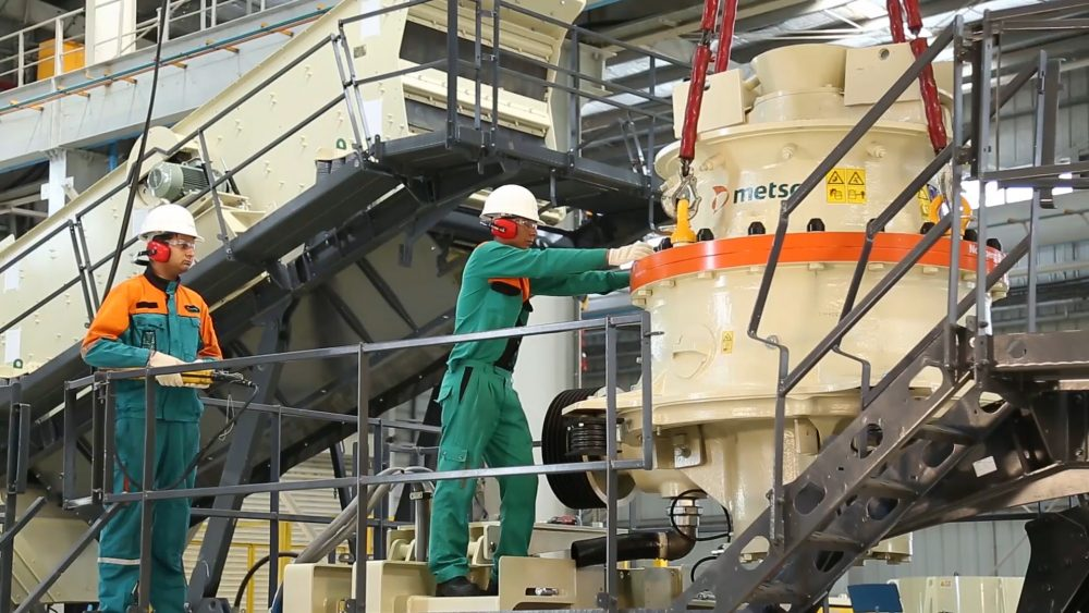 Metso increases production in India to meet demand for aggregates equipment